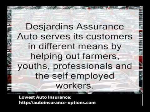 Assurance Desjardins Auto
