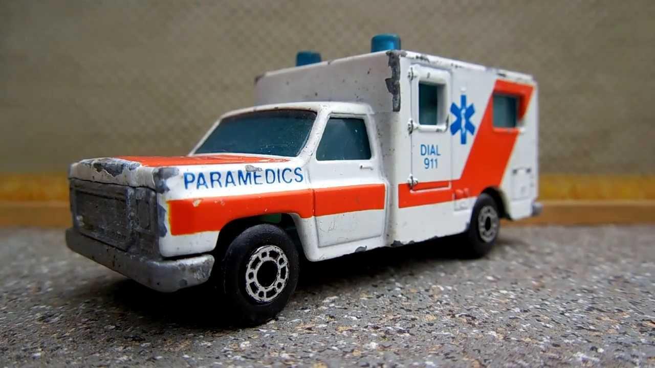 Ambulance Matchbox Car Featured Matchbox Car