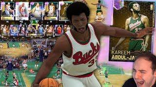 NBA 2K19 My Team GALAXY OPAL KAREEM TAKES OVER! WE CLOWNING HIM!!!