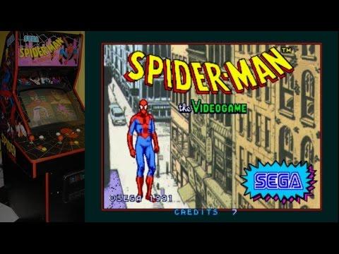 Spider-man (arcade) - Bide à Bière Man - Mercredi 1 Crédit - Benzaielive video