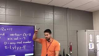 Algebra 1 Honors (Lesson 10-1B) Pre-fire drill