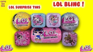 LOL Surprise Under Wraps Confetti POP BLING Series