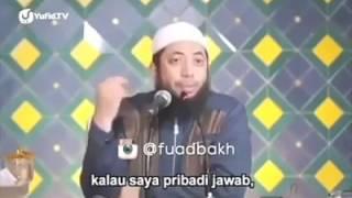 HUKUM Mengucapkan Selamat Natal Kepada Non Muslim - UST.Khalid Basalamah