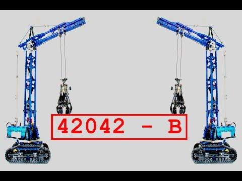 lego technic tower crane instructions