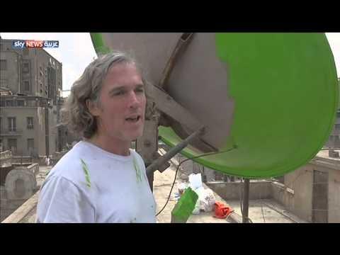 مبادرة لتلوين أطباق البث بالقاهرة
