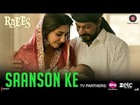 Saanson ke Full Audio Song | kk | Shahrukh Khan | Raees | Ahir & jamb8 thumbnail