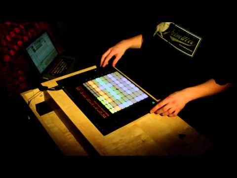 Ableton Push Performance with Guitar