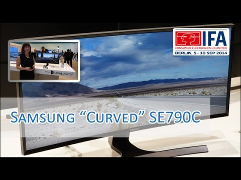 Samsung SE790C Curved 34'' Gaming Display [German/HD]