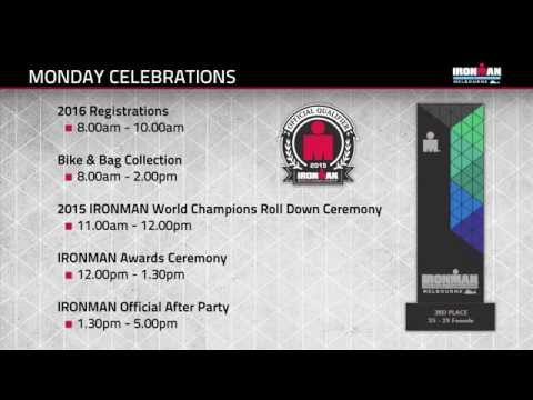 2015 IRONMAN Asia-Pacific Championship, Melbourne - Athlete Race Briefing