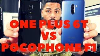 XIAOMI POCOPHONE F1 VS ONEPLUS 6T COMPARATIVA
