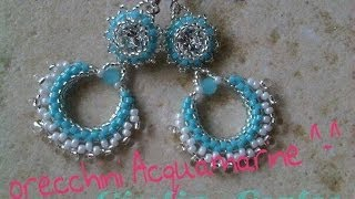 DIY Video tutorial: Orecchini Acquamarine :)
