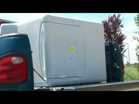 Penetration Test:  Clothes Dryer and .22 caliber pellets
