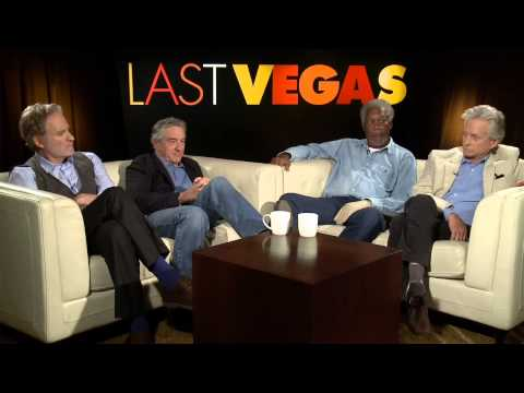 Last Vegas: Michael Douglas, Robert De Niro, Morgan Freeman, & Kevin Kline Part 1 of 2
