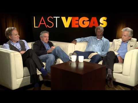 Last Vegas: Michael Douglas, Robert De Niro, Morgan Freeman, & Kevin Kline Part 1 of 2