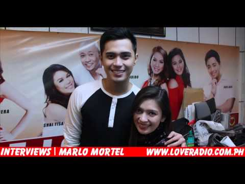 Marlo Mortel at Love Radio Manila