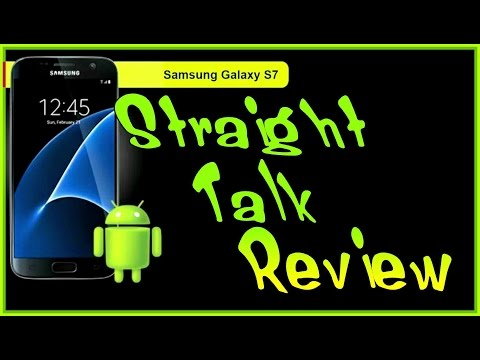Straight Talk Samsung Galaxy s7 First thoughts Review
