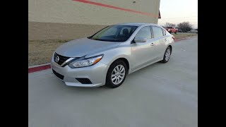 2017 Nissan Altima Sdn 2.5, Special In House Finance (Princeton, Texas)