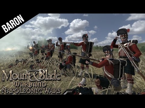 Mount & Blade - British Sniper! For Old Nosey - Mount & Blade Warband Napoleonic Wars Gameplay