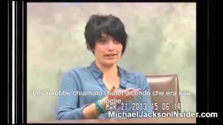 Michael Jackson: Deposition of Paris Jackson. ( Sub Ita)