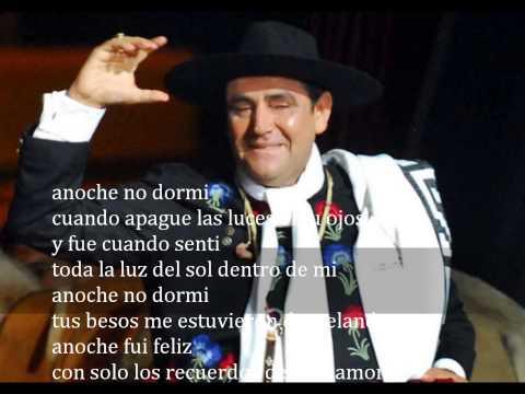 ANOCHE NO DORMI CHAQUE ÑO PALAVECINO ROBERTO PEREZ
