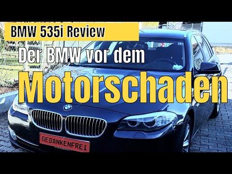 BMW 535i F11 Review / BMW Probleme & BMW Motorschaden
