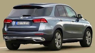 2019 Mercedes GLE w167 - render of a new generation of SUV