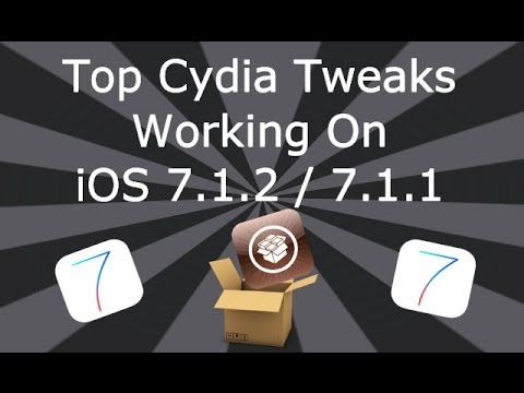 Top Cydia Tweaks Working On iOS 7.1.2 / 7.1.1 iPhone. iPad & iPod Touch