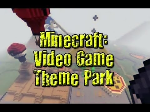Minecraft: Video Game Theme Park made by TradeChat, Crendor and Niko