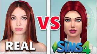 Youtuber nella REALTA' VS THE SIMS 4