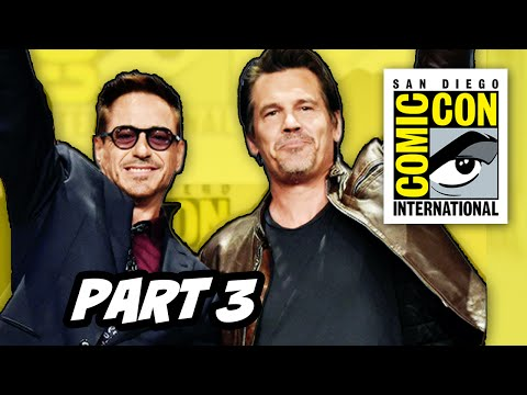 Marvel Comic Con 2014 Panel Part 3 - Avengers Age of Ultron