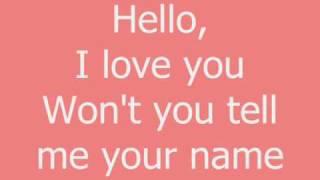 Watch Glee Cast Hello I Love You video