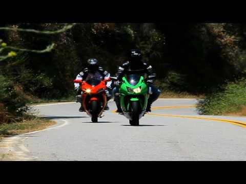 2010 Bennche Megelli 250R vs. Kawasaki Ninja 250R Motorcycle Shoot-out