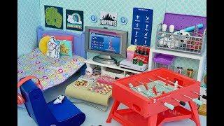 American Girl Doll Fortnite Game Room