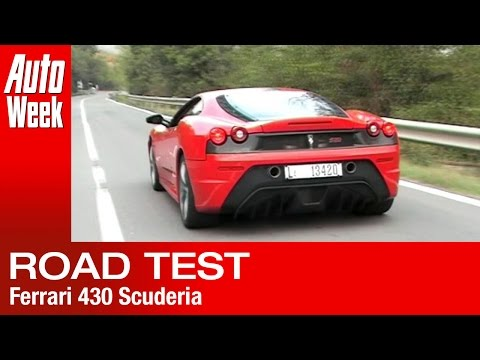 Gereden: de Ferrari 430 Scuderia (English subtitled)