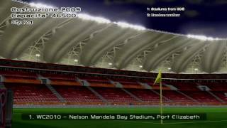 FIFA World Cup 2010 stadiums in PES6 (HD 720p with download links)