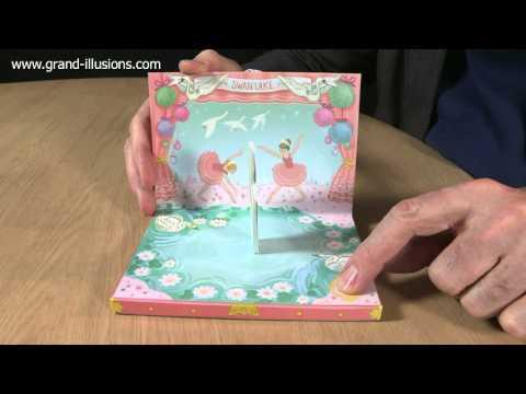 Swan Lake Birthday Card