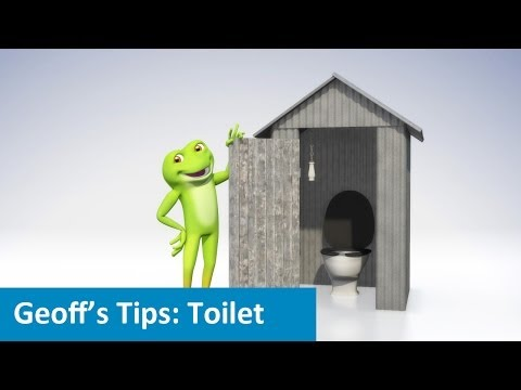 A new toilet could save bucket loads
