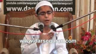 Hamd - Little Boy Islamic Program Darsequran.com - 4 March 2012