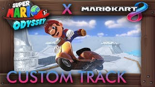 What If Mario Kart 8 Had a Super Mario Odyssey Track?