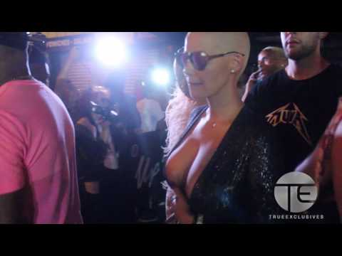 Amber Rose Shows Off Her Assets at VMA After Party thumbnail