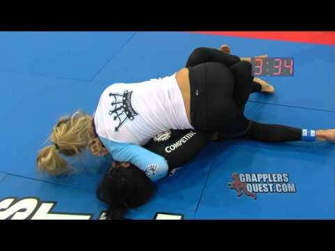 Queens of Grapplers Quest: Jessica Branco vs Jessica Rodriguez at Florida 2012 Female Grappling