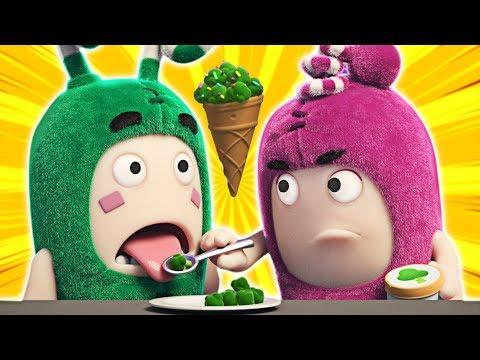 Oddbods | BROCCOLI ICE CREAM | Yummy Ice Cream Episodes by Oddbods & Friends