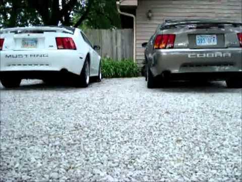 2002 Mustang Gt Exhaust Vs 2001 Mustang Cobra Exhaust