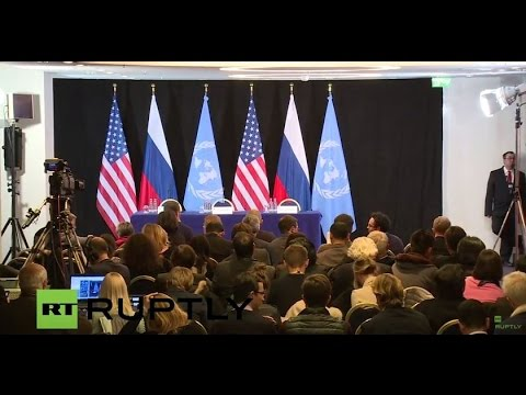 LIVE: Press conference following Syria Support Group meeting on sidelines of MSC - English Audio