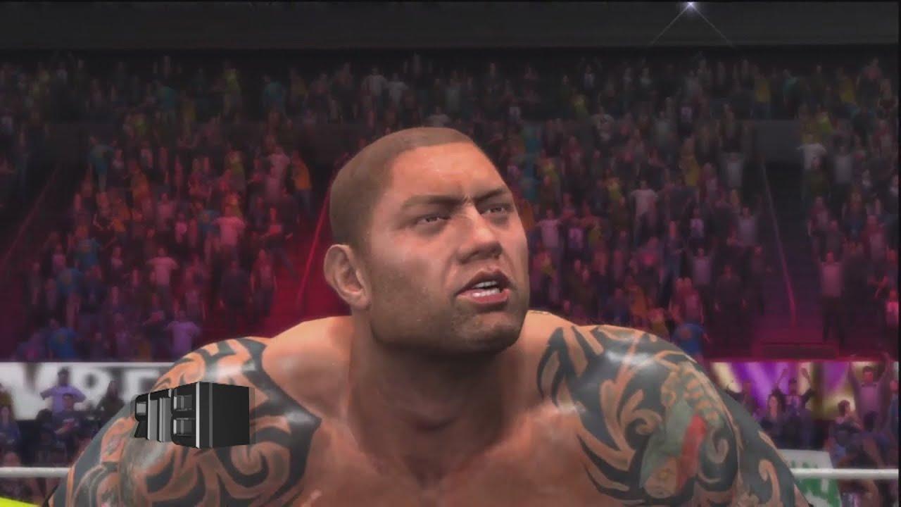 Wwe 2k14 Batista WWE 2K14 Batista Uses ...