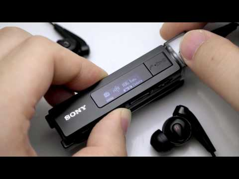 Noise Cancelling MP3 Player! SONY NWZ-M504 UI REVIEW!