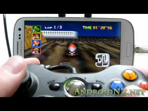 Samsung Galaxy S3: Connectivity demo - USB OTG. MHL. bluetooth keyboards/mice. games controllers