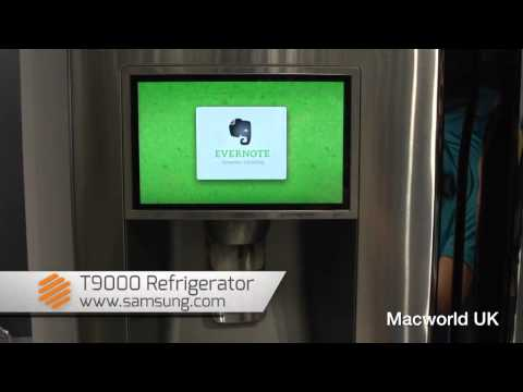 CES 2013: Android & Evernote Fridge