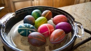 Rubber Band Easter Eggs - Let