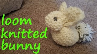 Loom Knitted Bunny